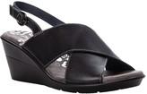 Propet Crisscross Leather Strap Sandals - Luna