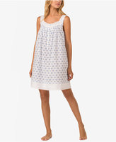 Eileen West Printed Cotton Nightgown