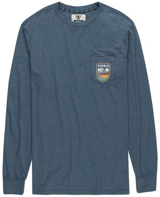 VISSLA Diamondhead Long-Sleeve Pocket T-Shirt - Men's