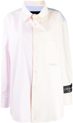 COOL T.M Contrast Panel Shirt