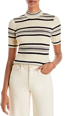 Theory Striped Bering Sweater