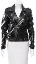 BLK DNM Asymmetrical Leather Jacket w/ Tags