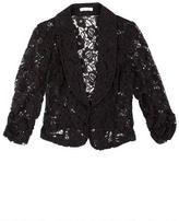 Delia's Allover Lace Blazer