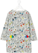 Stella McCartney tassel printed dress