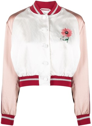 Ports 1961 Embroidered Bomber Jacket