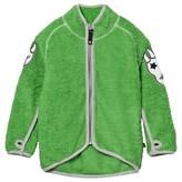 Molo Ulan Fleece Jacket In Online Green