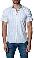 Jared Lang Men's Stripe Sport Shirt