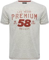M&Co Las Vegas 58 print t-shirt