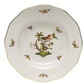 Herend Rothschild Bird Rimmed Soup Bowl, Motif #3