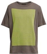 Christopher Kane Stud-embellished cotton-jersey T-shirt