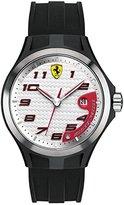 Ferrari Scuderia Gents SF102 'Lap Time' Black Watch with White Dial 0830013