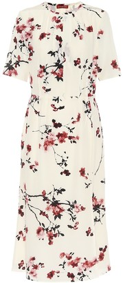 Altuzarra Gladys floral silk midi dress