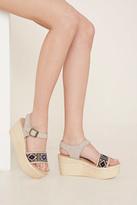 Forever 21 FOREVER 21+ Sbicca Wedge Sandals