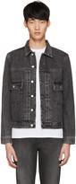 Paul Smith Grey Denim Western Jacket