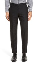 J.Crew Men's Ludlow Flat Front Solid Wool Trousers