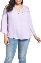 Melissa McCarthy Plus Size Women's Cold Shoulder Top
