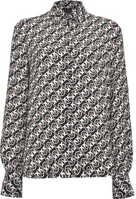 Pinko Pattern-Print Shirt