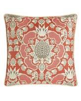 Elaine Smith Orange Outdoor Pillows