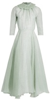 Emilia Wickstead Hera ruffled organza A-line dress