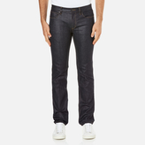 HUGO Men's 708 Straight Leg Jeans Raw Wash
