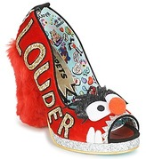 Irregular Choice LOUDER! Red