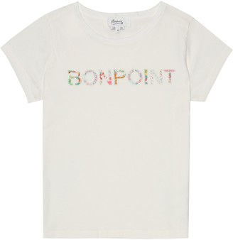 Bonpoint Logo cotton T-shirt