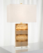 John-Richard Collection John Richard Collection Frosted Gold Table Lamp