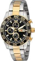 Invicta Men's II Chronograph 18k -Plated and Silver-Tone Stainless Steel Watch 1015