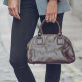Liliana Maxwell Scott Bags Italian Ladies Leather Bowling Bag. 'The S'