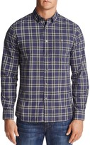 Todd Snyder Plaid Regular Fit Button-Down Shirt