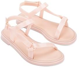 Melissa Women's Fresh Bubble Gum Scented Side Strap Sandals
