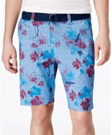 American Rag Mens Slim Floral Casual Walking Shorts