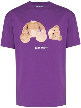 Palm Angels bear print T-shirt