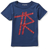 True Religion Big Boys 8-20 Tape Short-Sleeve Tee