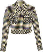 Bottega Veneta Embroidered Belted Jacket