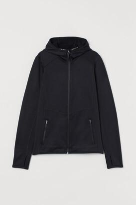 H&M Hooded Track Jacket - Black