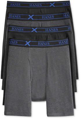 Hanes Men 4-Pack X-Temp Performance Boxer Briefs
