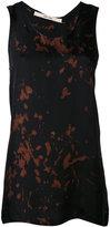 Damir Doma splatter print tank top - women - Cupro - M