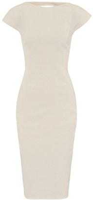 Rick Owens Easy Sarah cotton-blend dress