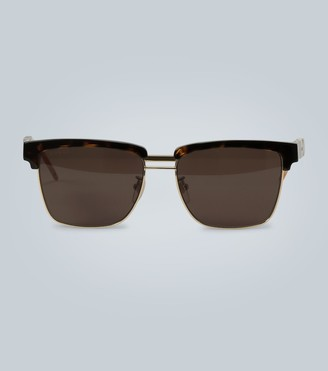 Gucci Sunglasses with square acetate frame