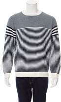 Barneys New York Barney's New York Striped Crew Neck Sweater