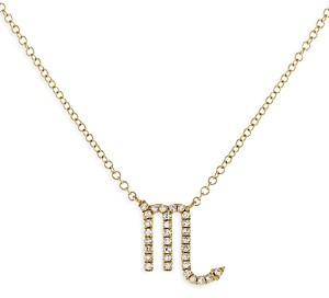 Adina's Jewels Adinas Jewels Pave Scorpio Pendant Necklace, 16-18