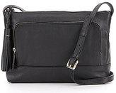 Cole Haan Pinch Tasseled RFID Cross-Body Bag