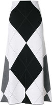 Stella McCartney Argyle knit skirt