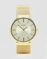 Sekonda Gold Mesh Watch Exclusive To ASOS