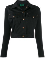 Jean Paul Gaultier Pre Owned snap cropped jacket
