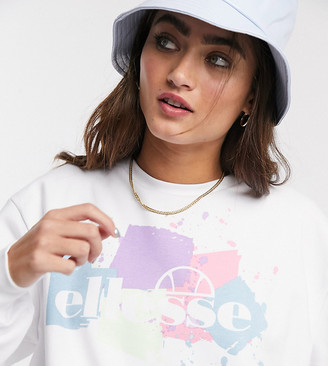 Ellesse oversized sweatshirt with vintage logo graphic