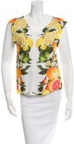 Stella McCartney Printed Sleeveless T-Shirt