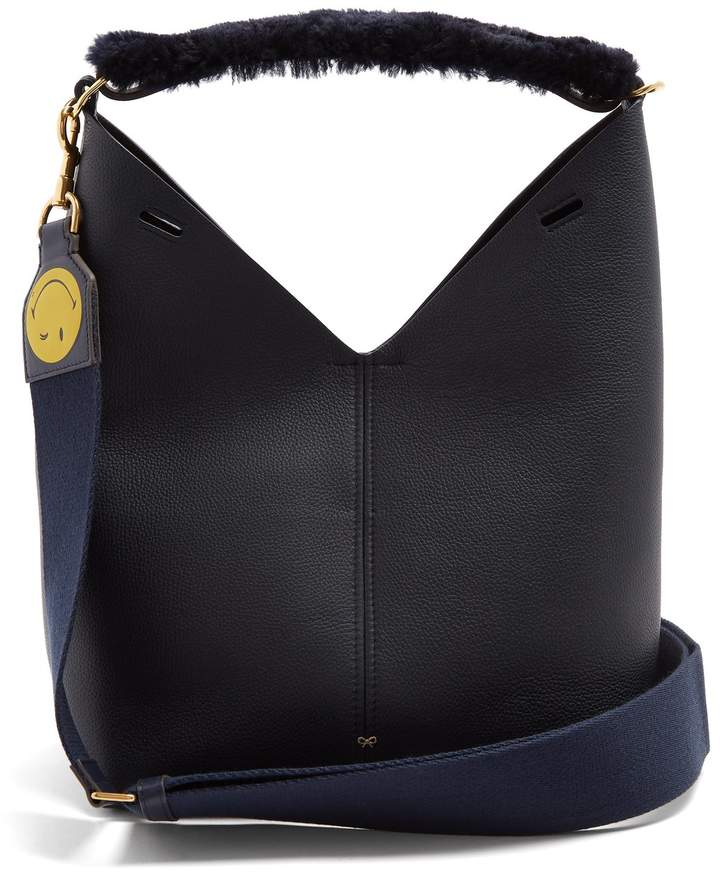 Anya Hindmarch Build A Bag leather tote