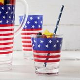 Sur La Table Stars and Stripes Paper Straws, Set of 25